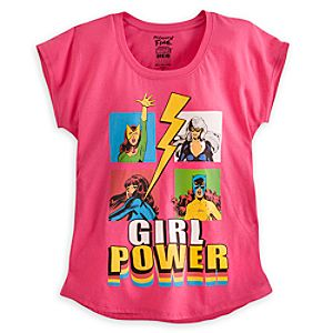 Marvel Girl Power Tee for Women by Mighty Fine