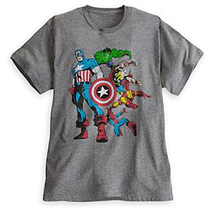 Marvel Comics Tee for Men by Mighty Fine