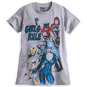 Marvel Super Heroines Tee for Women by Mighty Fine
