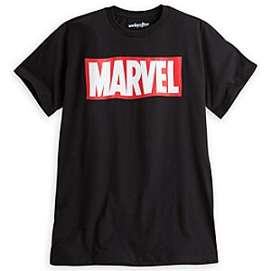 Marvel Logo Tee for Men by Mighty Fine