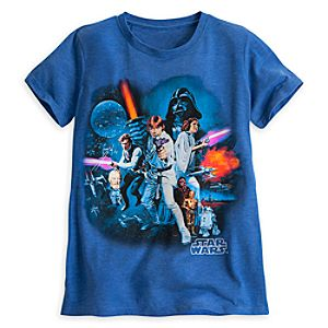 Star Wars Original Cast Tee for Women by Mighty Fine