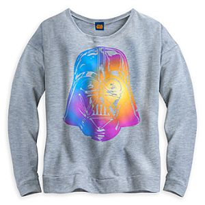 Darth Vader Rainbow Tee for Women by Mighty Fine
