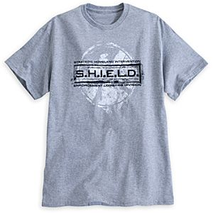 Agents of S.H.I.E.L.D. Tee for Men - Gray