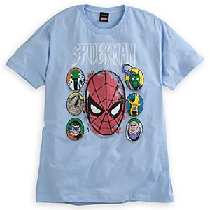 Spider-Man and Rogues Gallery Tee for Men