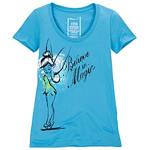 Scoop Neck Tinker Bell Tee for Women -- Made With Organic Cotton
