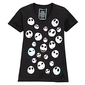 Expressions Jack Skellington Tee for Women -- Made With Organic Cotton