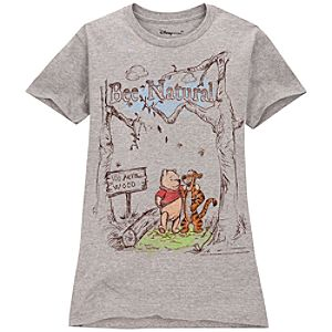Classic Winnie the Pooh Tee for Women -- Made With Organic Cotton