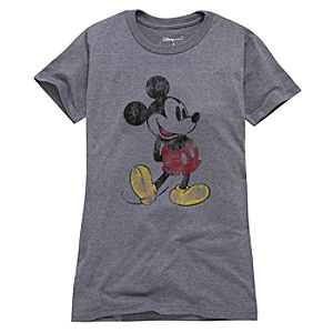 Classic Mickey Mouse Tee for Women -- Made With Organic Cotton