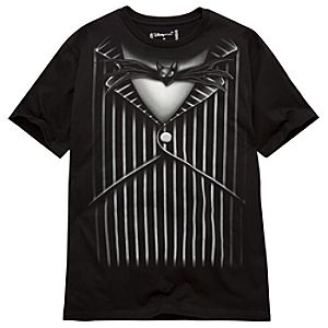Fashion Jack Skellington Tee for Men -- Made With Organic Cotton