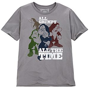 All Grumpy All the Time Grumpy Tee for Men -- Made With Organic Cotton