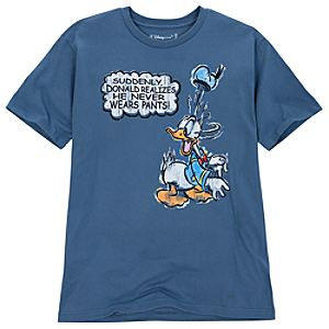 Organic Cotton Donald Duck Tee for Men