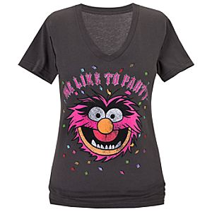 Me Like to Party Animal Tee for Women