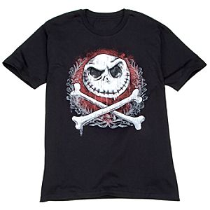 Jacks Bones Jack Skellington Tee for Men -- Made With Organic Cotton