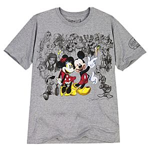 Limited Edition D23 25 Years of Magic Disney Tee for Adults