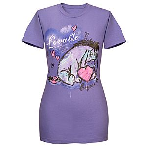 Lovable Eeyore Tee for Women