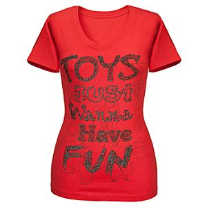 V-Neck Toy Story Tee for Women -- Made with Organic Cotton