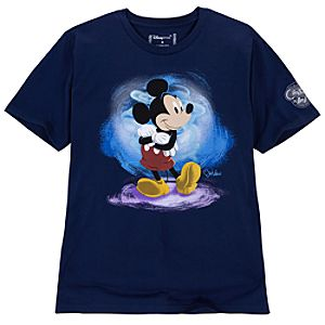 25th Anniversary Mickey Mouse Tee for Men