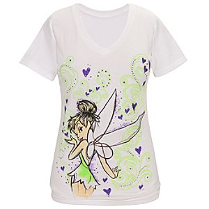 Sketch Art Tinker Bell Tee for Women