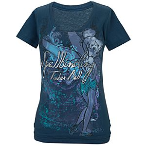 Spellbinding Tinker Bell Tee for Women