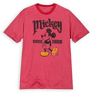 Classic Pose Mickey Mouse Tee for Adults
