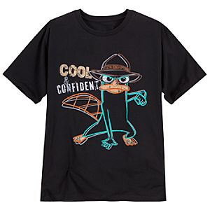 Cool & Confident Agent P Tee for Men