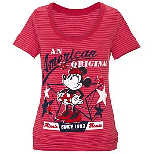 American Original Minnie Mouse Tee for Women