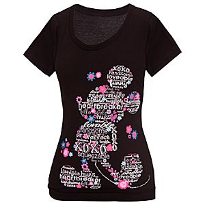All About Mickey Mouse Tee for Women