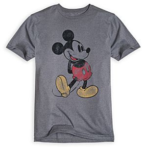 Classic Mickey Mouse Tee for Men