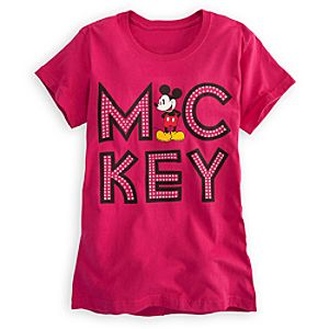 Marquee Mickey Mouse Tee for Women