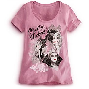 Disney Villains Tee for Women