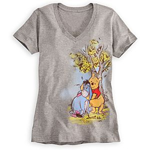 Eeyore and Winnie the Pooh Tee for Women