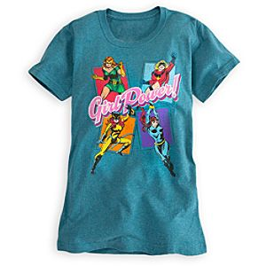 Girl Power Marvel Comics Tee for Women