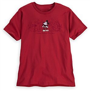 Mickey Through the Years Mickey Mouse Tee for Men