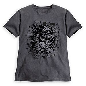Cartoon Classic Mickey Mouse Tee for Men