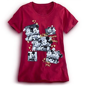 Minnie and Mickey Mouse Tee for Women -- Plus Size