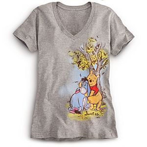 Eeyore and Winnie the Pooh Tee for Women -- Plus Size