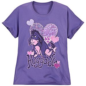 Huggable Eeyore Tee for Women -- Plus Size