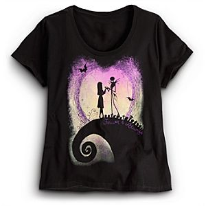 Sally and Jack Skellington Tee for Women -- Plus Size
