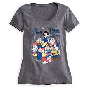 Snow White and the Seven Dwarfs Tee for Women