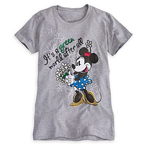Minnie Mouse Tee for Women - Earth Day