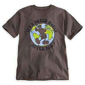 Mickey Mouse Tee for Men - Earth Day