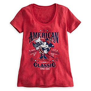 Minnie Mouse Tee for Women - American Classic