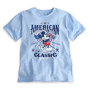 Mickey Mouse Tee for Men - American Classic