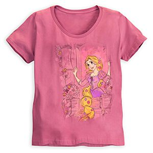Rapunzel Tee for Women - Plus Size