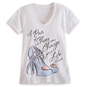 Cinderella Slipper Tee for Women