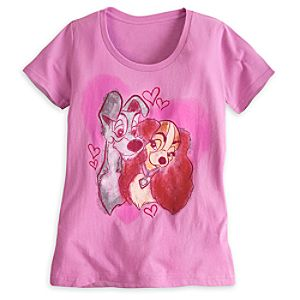 Lady and the Tramp Tee for Women