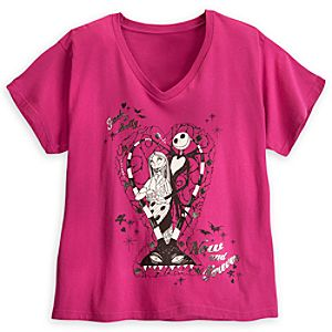 Jack Skellington and Sally Tee for Women - Plus Size