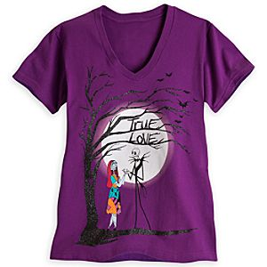 Jack Skellington and Sally Tee for Women