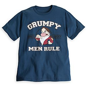 Grumpy Tee for Men - Plus Size