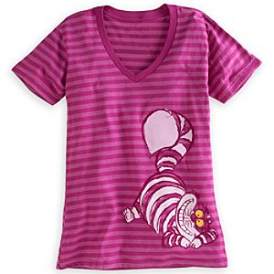 Cheshire Cat Striped Tee for Women